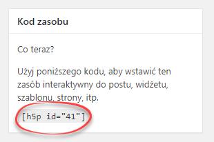 zakładka Kod zasobu ze wskazanym kodem do utworzonej  gry Memory Game